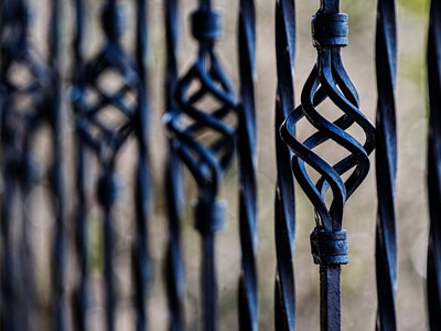 steel-fence